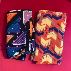 LULAROE TC LEGGINGS NEW 2 PACK